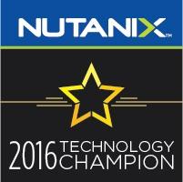 Nutanix NTC 2016 Alexander Ervik Johnsen