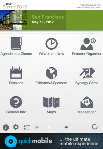 Citrix Synergy 2012 Conference App