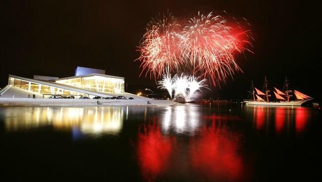 Happy New Year from Oslo
