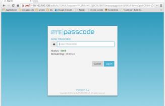 smsPasscode 7.2