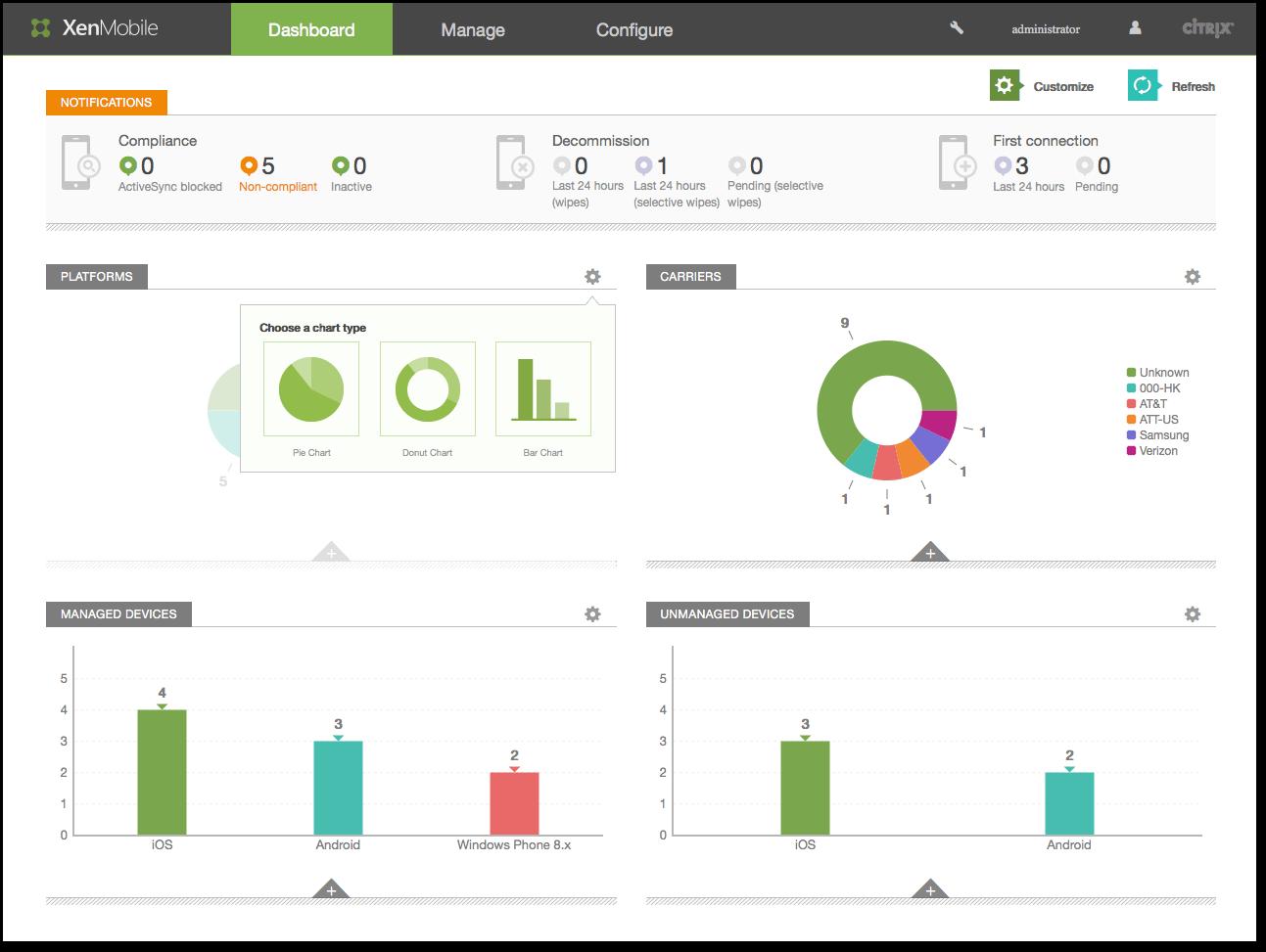 XenMobile Server 10.3