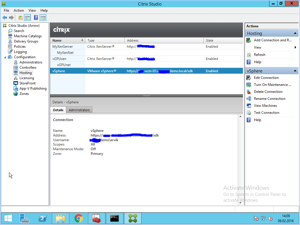Setup XenApp and XenDesktop with VMware vSphere