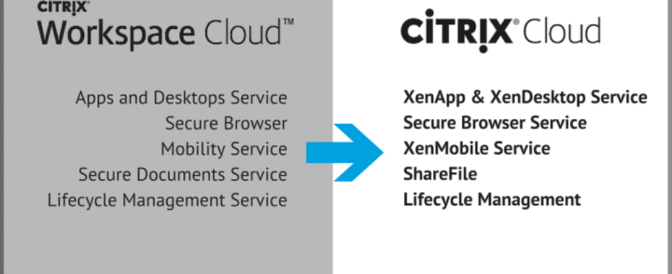 Citrix Workspace Cloud will be simply, Citrix Cloud.