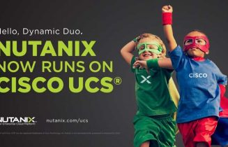 Nutanix Software Now Runs on Cisco UCS