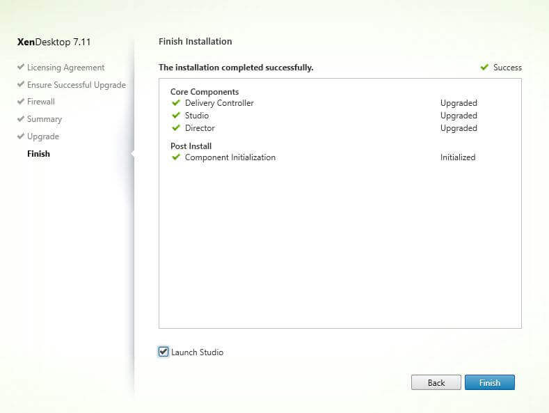 How to upgrade to XenApp 7.11 / XenDesktop 7.11