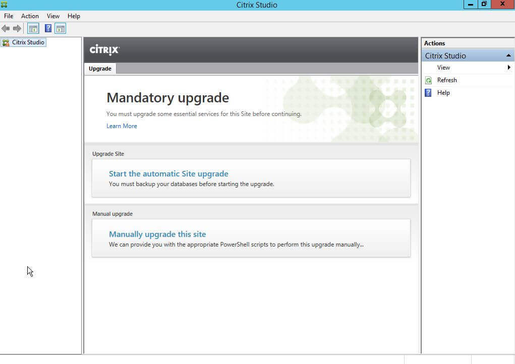 How to upgrade to XenApp 7.11 / XenDesktop 7.11