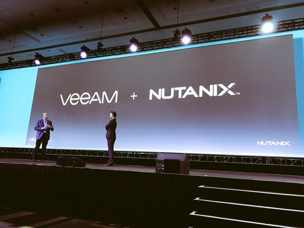 Veeam to deliver support for Nutanix AHV Hypervisor