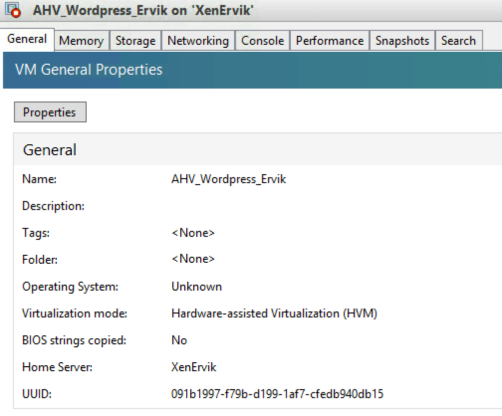 How to find UUID VM XenServer