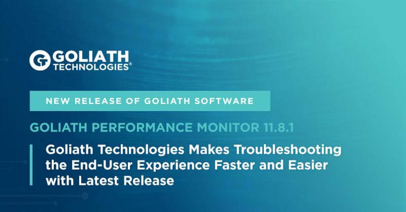 Goliath Performance Monitor 11.8.1