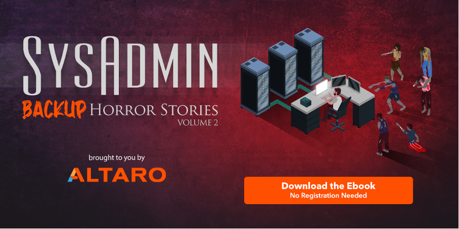SysAdmin Horror Stories vol 2 - Free ebook