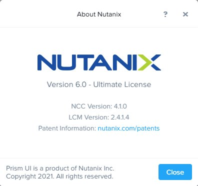 Nutanix AOS 6.0